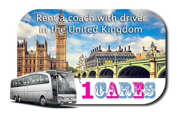 Rent a coach with driver in the UK