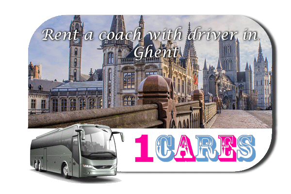 Rent a coach with driver in Ghent