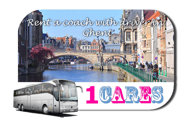 Rent a cоаch with driver in Ghent
