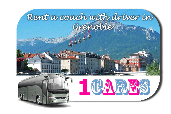 Rent a coach with driver in Grenoble