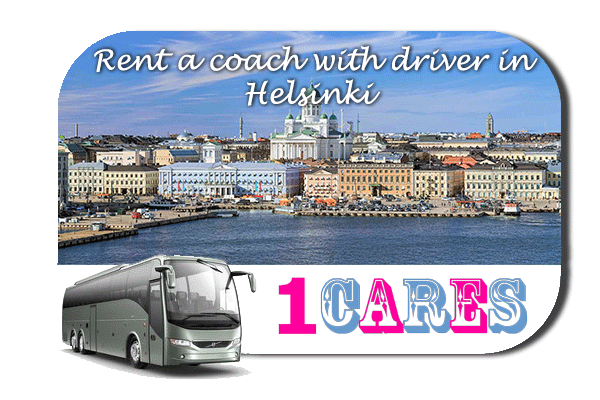 Rent a coach with driver in Helsinki