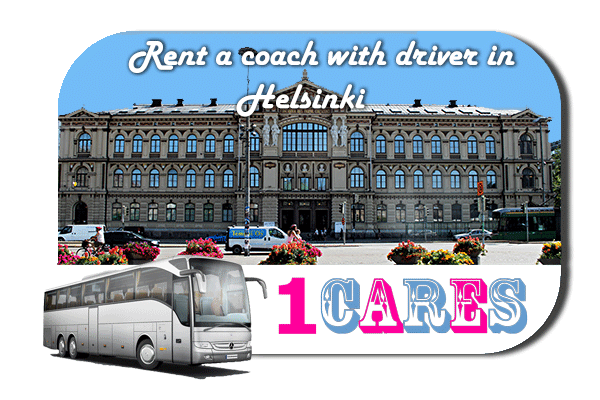 Rent a cоаch with driver in Helsinki