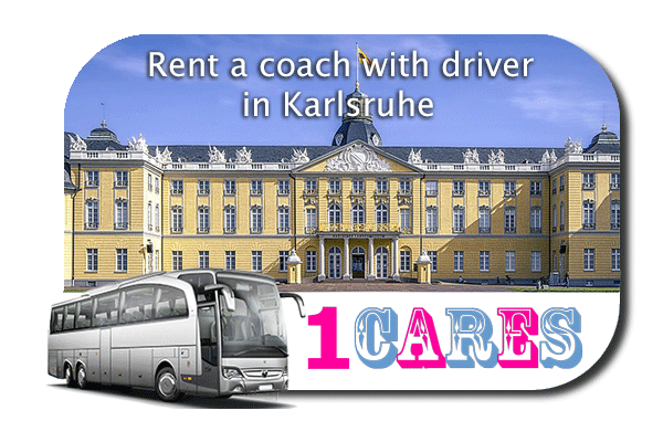 Rent a coach with driver in Karlsruhe