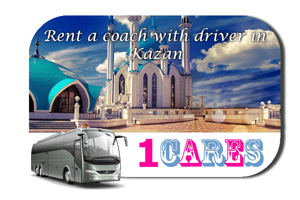 Rent a coach with driver in Kazan