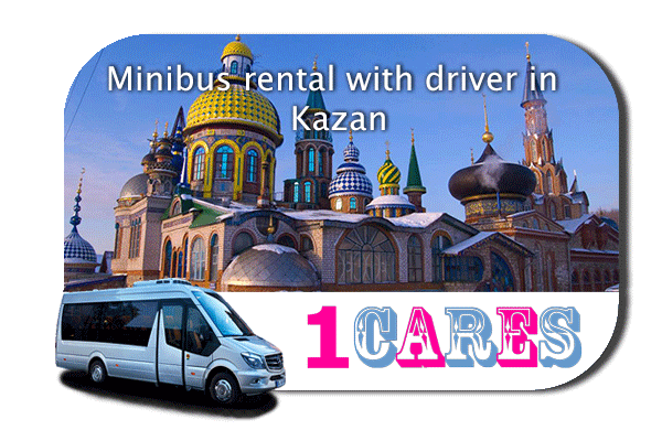 Hire a coach with driver in Kazan