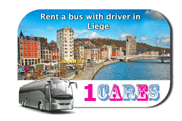 Rent a coach with driver in Liège