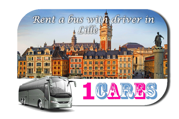 Rent a coach with driver in Lille