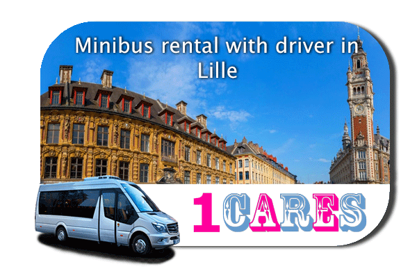 Hire a coach with driver in Lille