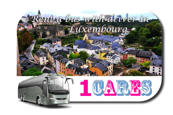 Rent a coach with driver in Luxembourg