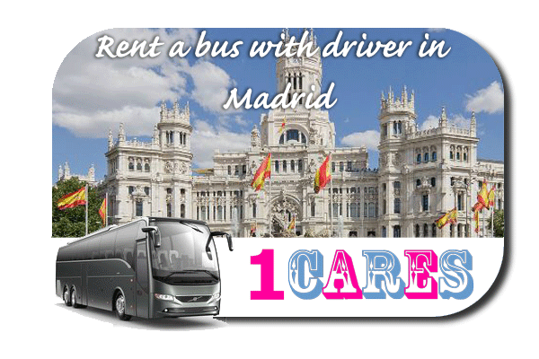 Rent a coach with driver in Madrid