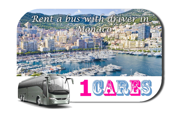 Rent a coach with driver in Monaco