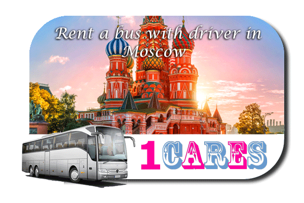 Rent a coach with driver in Moscow