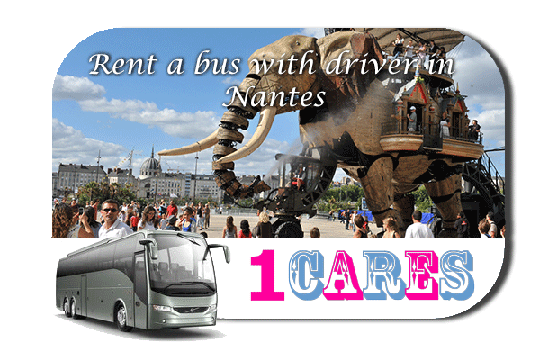 Rent a coach with driver in Nantes