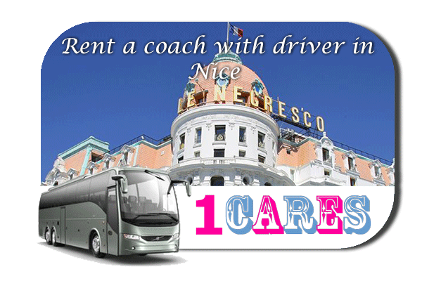 Rent a coach with driver in Nice