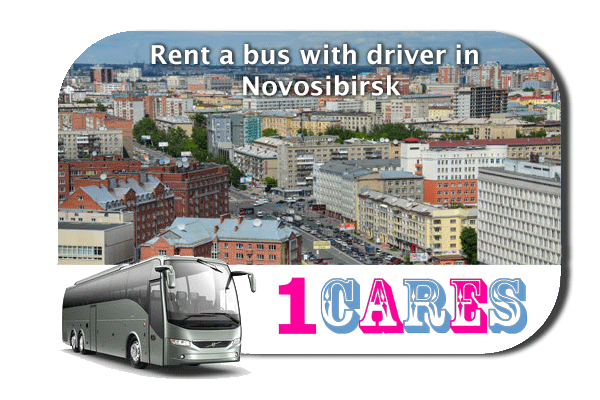Rent a coach with driver in Novosibirsk