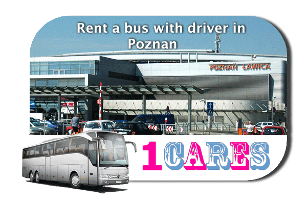 Hire a cоаch with driver in Poznan