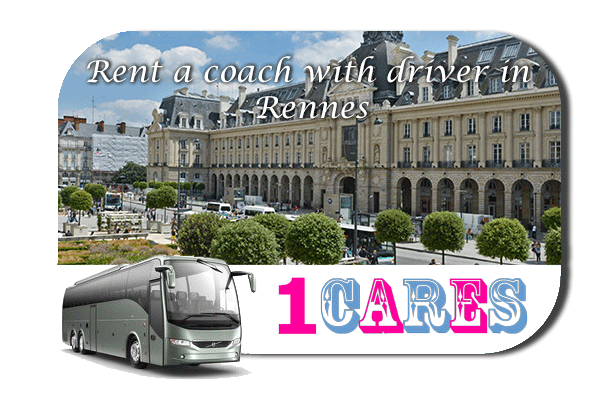 Rent a coach with driver in Rennes