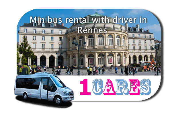 Hire a coach with driver in Rennes