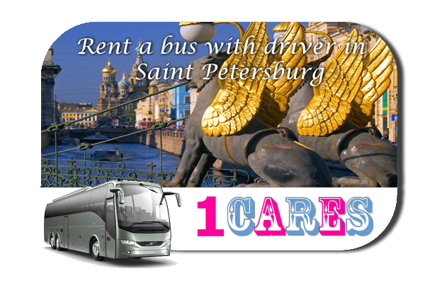 Rent a coach with driver in Saint Petersburg
