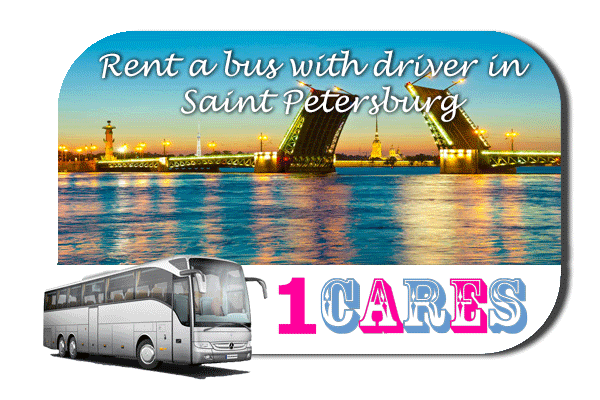Rent a cоаch with driver in Saint Petersburg