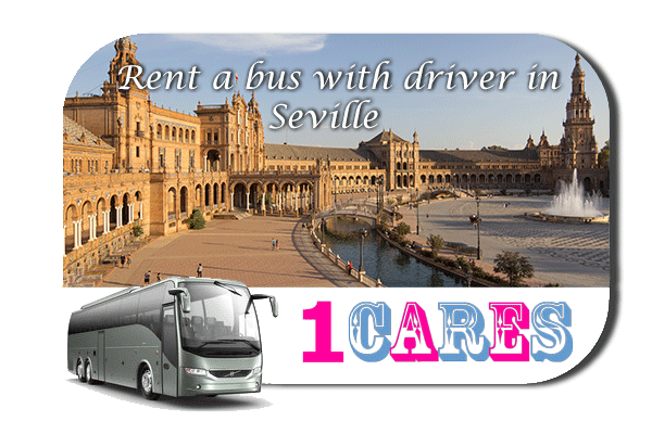 Rent a coach with driver in Seville