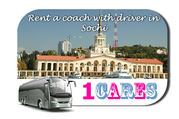 Rent a coach with driver in Sochi