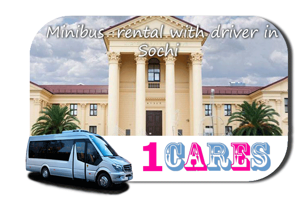 Hire a coach with driver in Sochi