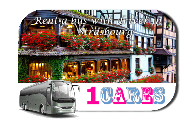 Rent a coach with driver in Strasbourg
