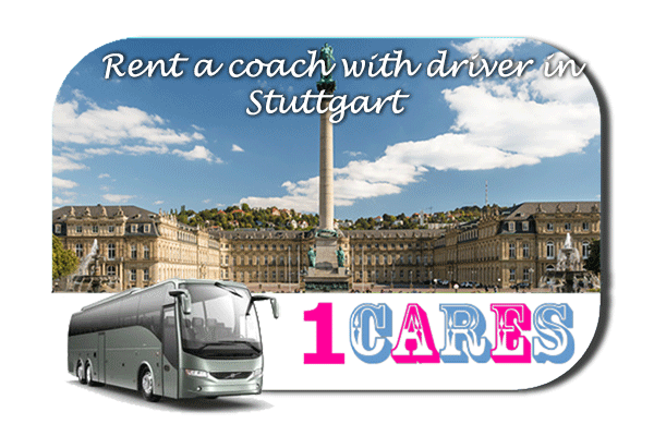 Rent a coach with driver in Stuttgart