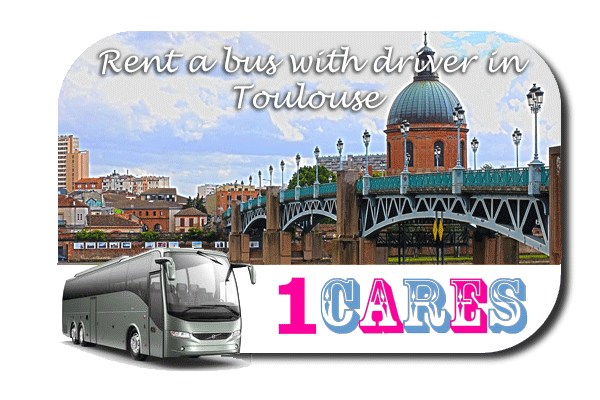 Rent a coach with driver in Toulouse