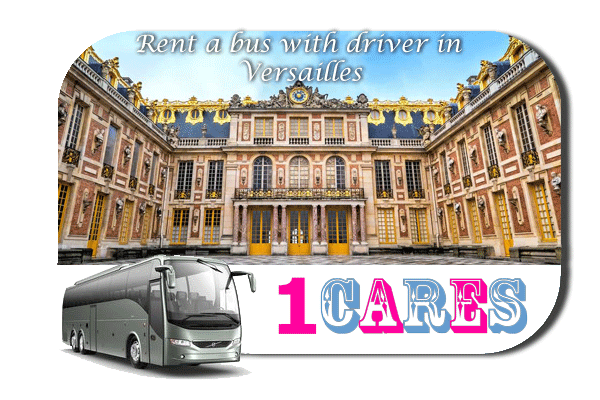 Rent a coach with driver in Versailles