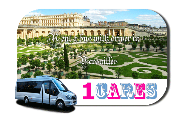 Hire a coach with driver in Versailles