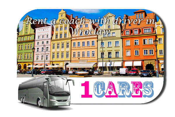 Rent a coach with driver in Wroclaw
