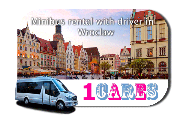 Hire a coach with driver in Wroclaw