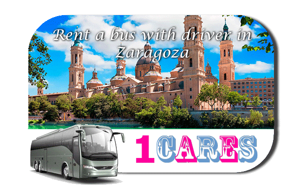 Rent a coach with driver in Zaragoza