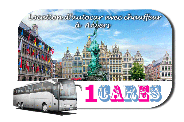 Location d'autocar à Anvers