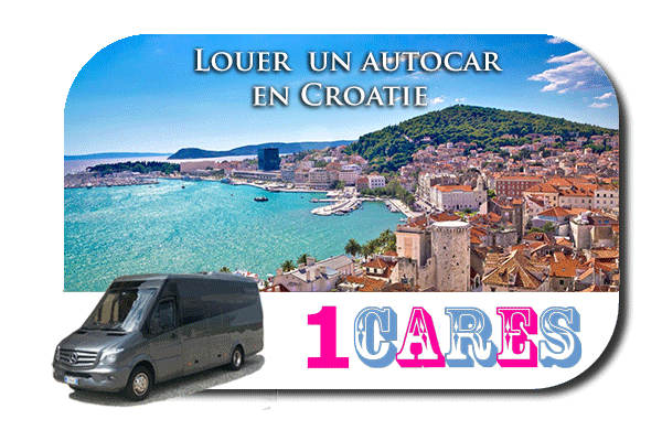 Location d'autobus en Croatie