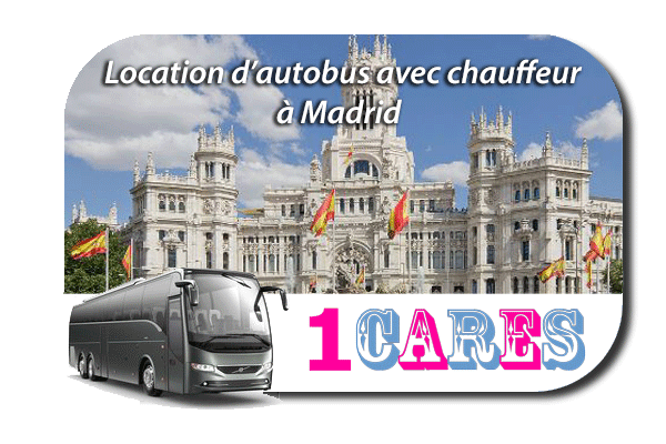 Location d'autocar à Madrid