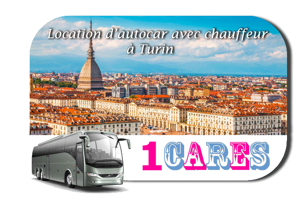 Location d'autocar à Turin