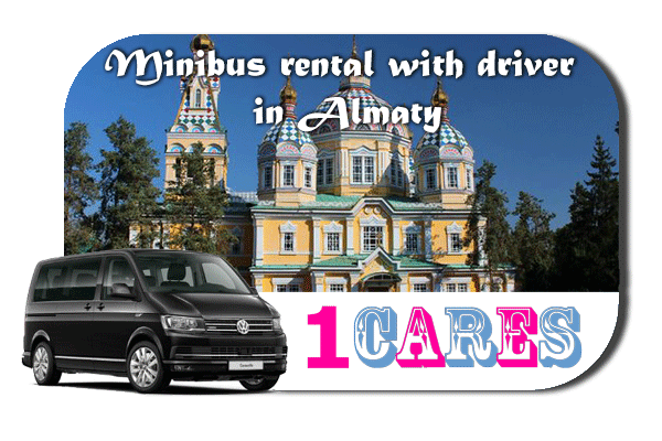 Rent a van with driver in Almaty