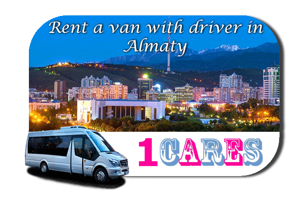 Hire a van with driver in Almaty