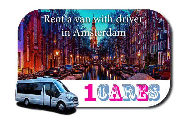 Hire a minibus with driver in Amsterdam