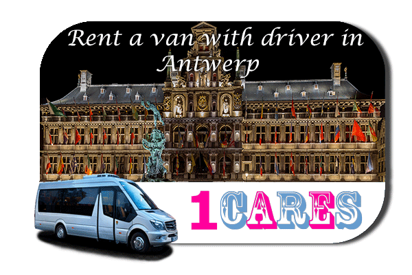 Hire a van with driver in Antwerp