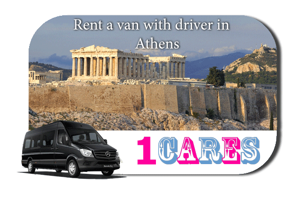Rent a van with driver in Athens