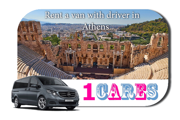 Hire a van with driver in Athens