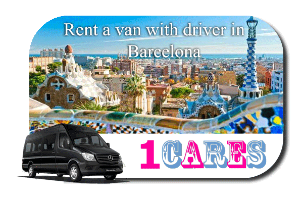 Rent a van with driver in Barcelona
