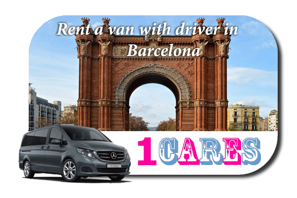 Hire a van with driver in Barcelona