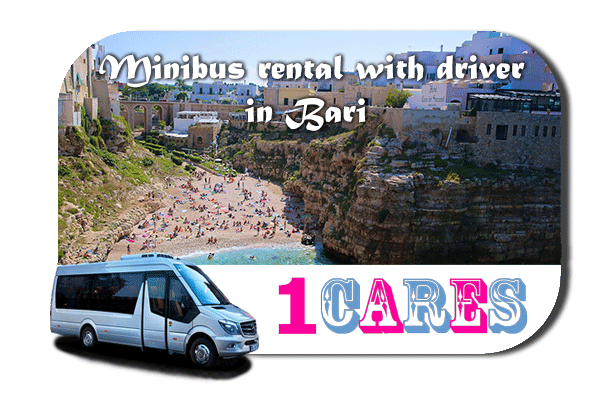 Rent a van with driver in Bari