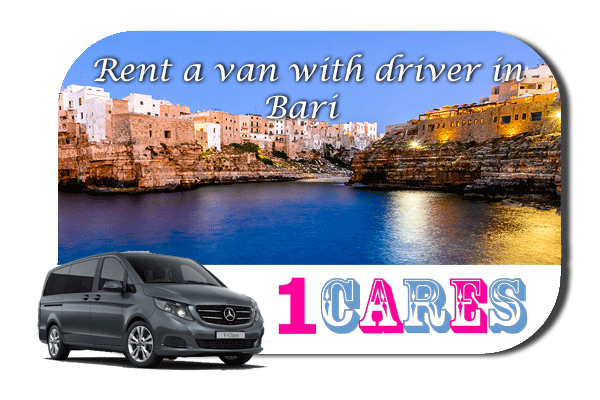 Hire a van with driver in Bari