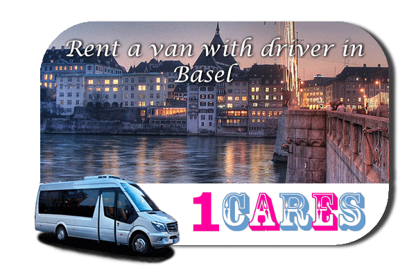 Hire a van with driver in Basel